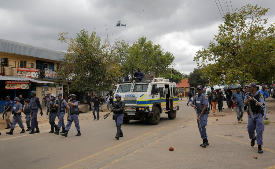 Zamieszki w Pretorii