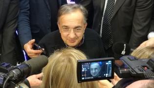 Szef koncernu Fiat Chrysler Automobile Sergio Marchionne